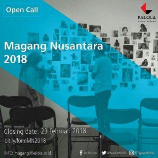 Magang Nusantara Yayasan Kelola Tahun 2018