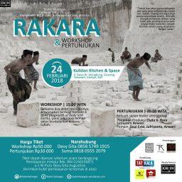 RAKARA Roadshow Workshop Metode Latihan Aktor