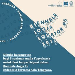 Open Call 5 Seniman Yogyakarta di Biennalle Jogja Equator #5 2019