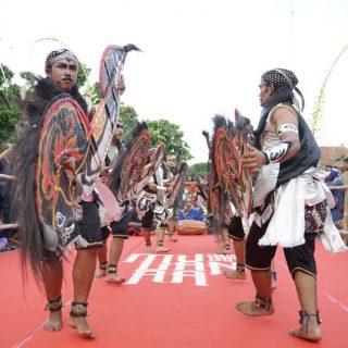 Jathilan Kudho Asmoro hadir dalam Pre-event FKY 2019