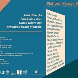 Platform Perupa Muda Biennale Jogja XV 2019