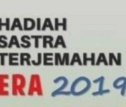 Sayembara Hadiah Sastra Terjemahan Mastera 2019