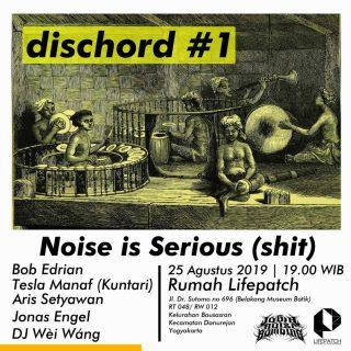 Jogja Noise Bombing dan Lifepatch Gelar Diskusi Musik Noise