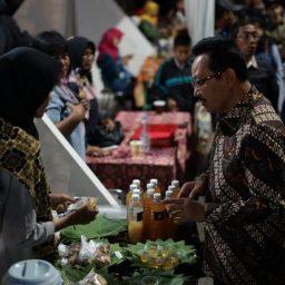 Festival Jamu dan Wayang Kota di Jogja Cross Culture