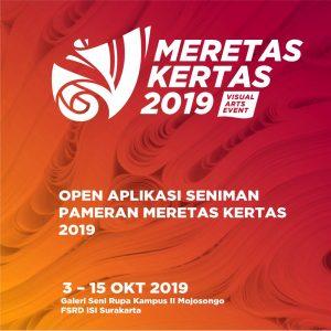 Panggilan Terbuka Meretas Kertas Art Event Tahun 2019