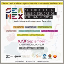 SEAMEX 2019 -Southeast Asia Music Education Exchange digelar di Yogyakarta -Tya Subiakto]