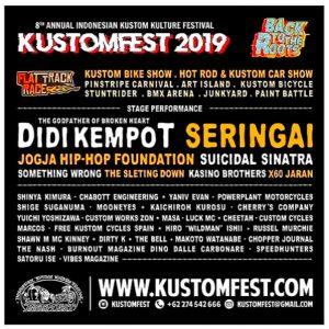 KUSTOMFEST 2019 Bertema 'Back To The Roots' Merilis Official Soundtrack GAS GAS GAS Karya Kill The DJ