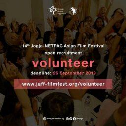 Panggilan Terbuka Volunteer JAFF -Jogja-NETPAC Asian Film Festival 2019