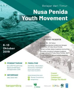 Open Requirement Belajar dari Timur di Nusa Penida Youth Movement
