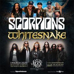 JogjaROCKarta Festival 1 Maret 2020 Hadirkan Scorpions dan Whitesnake