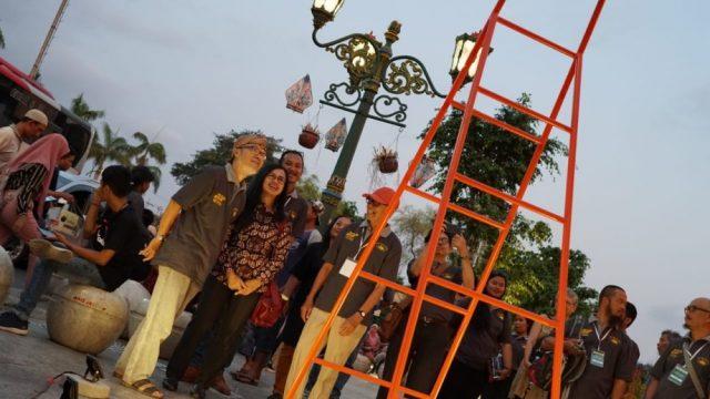 Pembukaan Pameran Patung Jogja Street Sculpture Project -JSSP #3