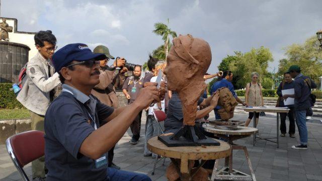 Pembukaan Pameran Patung Jogja Street Sculpture Project -JSSp
