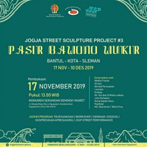Poster Starting Jogja Street Sclupture Project #3