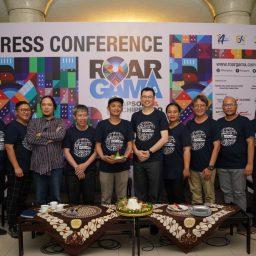 Press Conference Gamelan 4 ROAR GAMA 4.0