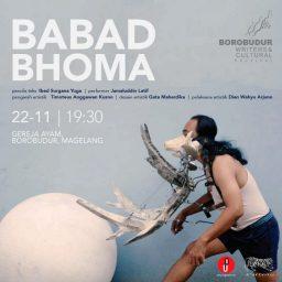 Solo Performance Babad Bhoma oleh Jamaluddin Latif di Gereja Ayam Borobudur
