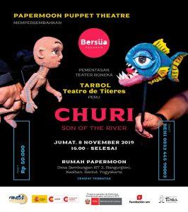 Teater Boneka dari Peru 'TARBOL Teatro de Titeres' Hadirkan Churi, Son of The River di Rumah Papermoon