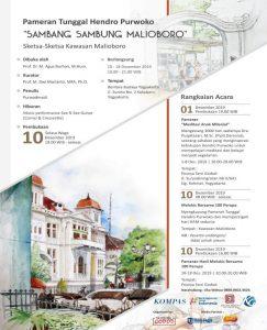 Rangkaian Pameran Hendro Purwoko Sambang Sambung Malioboro