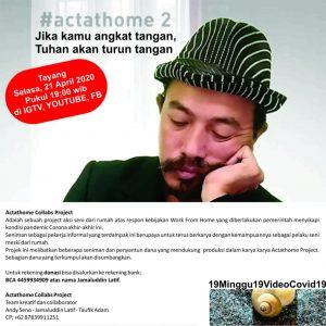 'Actathome Collabs Project' Menjadi Kolaborasi Kerja Kreatif Para Seniman