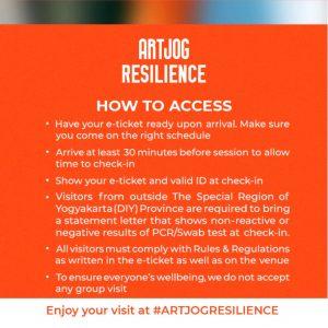 Access ARTJOG: RESILIENCE tahun 2020