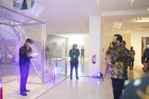Landung Simatupang n Sri Sultan HB X di Festival Kebudayaan Yogyakarta 2020