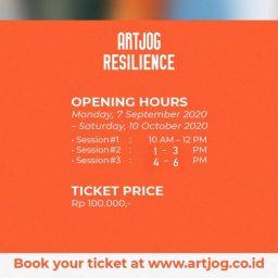 Opening Hours Kunjungan ARTJOG: RESILIENCE tahun 2020