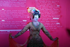 Tari Dwimuka Jali Didi Nini Thowok di Penutupan FKY 2020 -Karya Tanggap Karya
