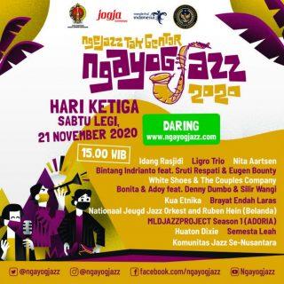 """Ngayogjazz 2020 """"Ngejazz Tak Gentar"""" Digelar Online a.k.a daring"""