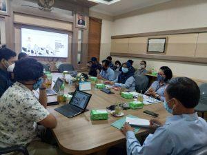 Audiensi Panitia FKY 2021 Dilakukan Bersama Plt Kepala Dinas Kebudayaan Daerah Istimewa Yogyakarta