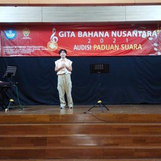 Audisi GBN Gita Bahana Nusantara 2021 dari Yogyakarta