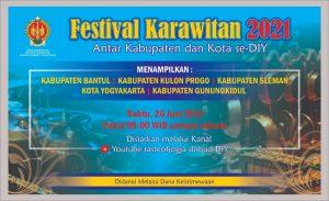 Festival Karawitan 2021 Kundha Kabudayan DIY
