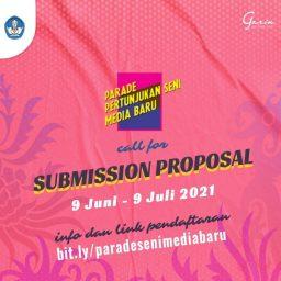 Syarat Ketentuan Pengajuan Proposal Karya untuk Parade Pertunjukan Seni Media Baru 2021