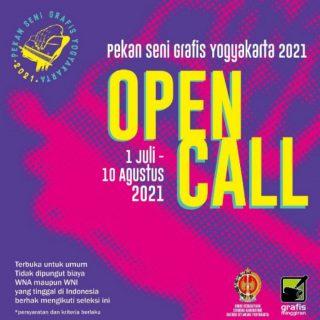 Pengiriman Karya Pekan Seni Grafis Yogyakarta Tahun 2021