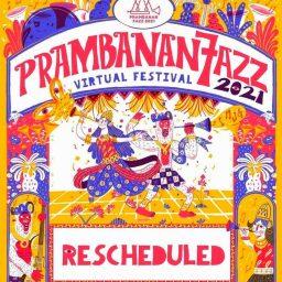 Helatan Prambanan Jazz Festival 2021 Dijadwalkan Ulang