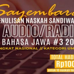 Karya Terbaik Naskah Sandiwara Radio Dinas Kebudayaan DIY 2021 Kategori Umum