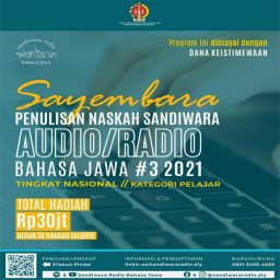 Sayembara Naskah Sandiwara Audio-Radio untuk Pelajar