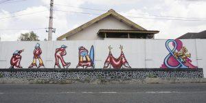 Street Art Nandur Srawung Ecosystem: Pranatamangsa RS Bethesda