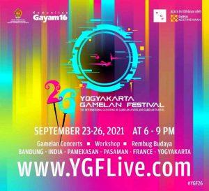 YGF Yogyakarta Gamelan Festival 2021 Digelar Secara Virtual