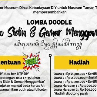 Museum Taman Tino Sidin Gelar Lomba Doodle Bertajuk Tino Sidin dan Gemar Menggambar