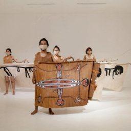Pembukaan Biennale Jogja 2021 Ditandai dengan Menyingkap Tirai Tema Roots Routes