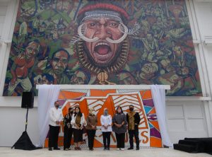 Pembukaan Biennale Jogja Tahun 2021 Usung Tema Roots Routes | Diah Tutuko Suryandaru - Elia Nurvista - Alia Swastika - Yuana Rochma Astuti - Dian Lakshmi Pratiwi - Gintani Swastika - Ayos Purwoaji