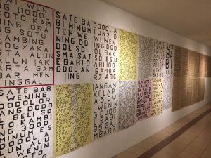 Semua Bermula dari Kata #1 -Pameran Karya Visual Abnormal Baru Dwi Putro X Nawa Tunggal DPNT